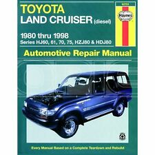 Haynes Toyota Land Cruiser Diesel (1980-1998) (92751)
