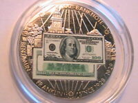 American Mint Medal $100 Franklin Banknotes of the US Limited Edition Proof Coin