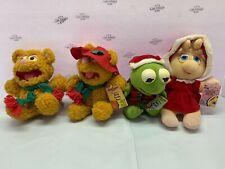 Lot of 4 Baby Miss Piggy, Baby Fozzie Bear, And Kermit McDonalds-Jim Henson's