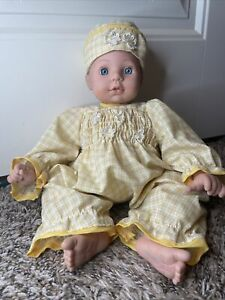 "Cititoy Baby Doll Toy 1997 14"" Target Blue Eyes"