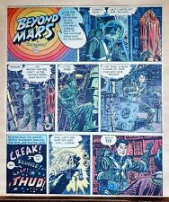 Beyond Mars by Jack Williamson - scarce full tab Sunday comic page Aug. 10, 1952