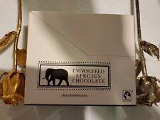 Endangered Species Tiger, Natural Dark Chocolate (72%) with Espresso Beans