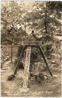 1920s Ak-Sar-Ben Gardens Aitkin, Minnesota Landscape Real Photo Postcard