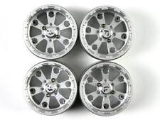 GDS RACING 2.2 Alloy Wheels Rim set for 1/10 rc crawler rc car black 4PCS 35mm