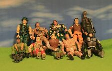 VINTAGE GI JOE ACTION FIGURES X 10 - BARGAIN BASEMENT AUCTION - LOT J
