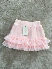 Billieblush Girls Pale Pink Velour Skirt Age 6
