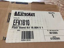 """RITTAL EFK1810 AFK1810 18""""H X 10""""W FLOOR STAND KIT FOR ELECTRICAL ENCLOSURE"""