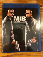 Men in Black Trilogy 1 2 3 Blu-Ray New Sealed Will Smith Tommy Lee Jones Movie
