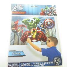 AVENGERS PARTY GAME- 8 Players  Hulk, Iron Man, Captain America, Thor, Superhero
