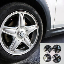 56mm Black Jack UK Car Truck Wheel Hub Caps Metal Sticker Center Cover Emblem