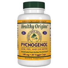 Healthy Origins - Pycnogenol 100mg x 30 Vegetarian Capsules