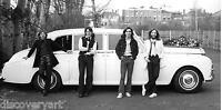 The Beatles 1969 Stretched Canvas Wall Art Poster Print Car John Lennon Paul cd