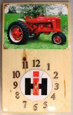 Farmall M Clock
