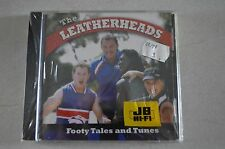 THE LEATHERHEADS FOOTY TALES AND TUNES RARE NEW SEALED CD! AFL AUSSIE RULES