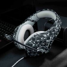 3.5mm PC Gaming Headset for PlayStation PS4 Tablet Headphone Mic Laptop Camo