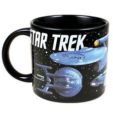 4378 Starships 50 Years Of Star Trek 12oz Coffee Mug Tea Cup Trekkies Enterprise