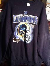 St. Louis Rams Vintage Reebok 2001 NFC Champions Super Bowl XXXVI NFL Sweatshirt