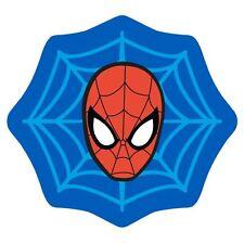 Spiderman Abstract Web Shaped Rug Floor Mat Non-slip Kids Boys 80cm X 75cm