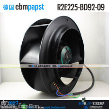 New ebm-papst Centrifugal Blower Turbo Inverter Fan R2E225-BD92-09 230V