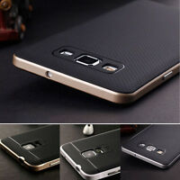 2 in 1 Hard Bumper Hybrid Rubber Skin Case Cover For Samsung Galaxy Note 4 S6 A5