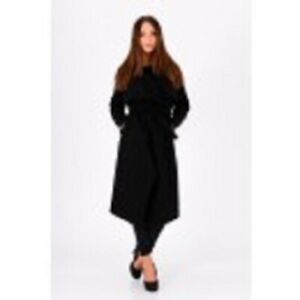 Langen Mantel 5122 Farbe: Schwarz