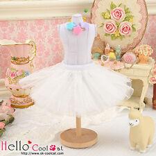 ☆╮Cool Cat╭☆140.【PC-01】Blythe/Pullip Tulle Ball Mini Skirt # White