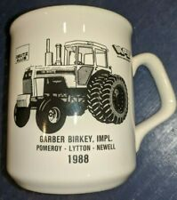 Deutz Allis White Coffee Mug White 185 Tractor 1988 Pomeroy Lytton Newell, IA
