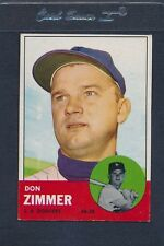 1963 Topps #439 Don Zimmer Dodgers EX *1500