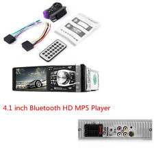 Autos 4.1'' LCD Diaplay Bluetooth Stereo Radio HD MP5 MP3 USB AUX Player Camera