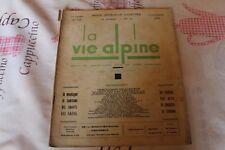 LA VIE ALPINE 12 revue du régionalisme dans les alpe française 1928