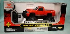 New BRIGHT Silverado RED 1:24 R/C Radio Control Vehicle Battery TRUCK NIB 27 MHz