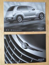 CHRYSLER PT Cruiser set of 2 unused factory postcards 2000 year - no brochure