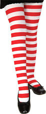 Red and White Christmas Striped Tights (Forum)