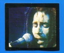 VIDEOFANTASY TELE SETTE 1983 Figurina-Sticker n. 9 - BOB MARLEY -New