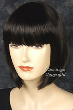 Pretty Bob Style Wig In Black /100% Japanese Fibre Brilliant Quality / Fumi Wigs