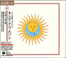 KING CRIMSON-LARKS' TONGUES IN ASPIC 40TH ANNIVERSARY-JAPAN HQCD + DVD-A  G88
