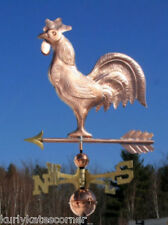FAVORITE ROOSTER WEATHERVANE W/COPPER BALLS & BRASS DIRECTIONAL MADE IN  USA 141