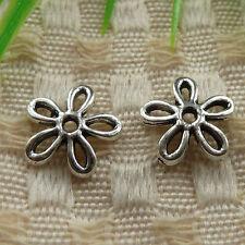 free ship 230 pieces tibetan silver nice bead cap 11x2.5mm #4161