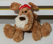 DARRELL LEA PUPPY DOG PROMOTIONAL PLUSH TOY! SOFT TOY ABOUT 17CM SEATED!