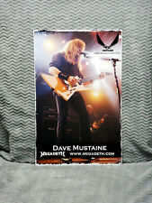Megadeth *Dave Mustaine* Marshall & Dean Guitars Posters
