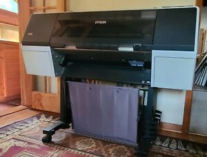 """Epson Stylus Pro 7900 24"""" Printer w/lots of ink, 1 color part clogged, see below"""