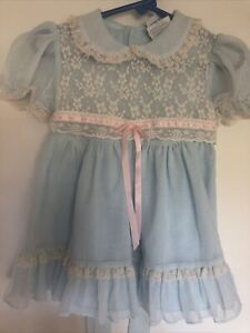 Vintage Nana's Pet little girls dress size 2 T for J. C. Penney