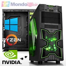 PC Computer AMD RYZEN 7 2700X - Ram 16 GB DDR4 - SSD 480 GB - Windows 10 Pro