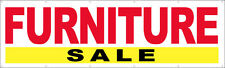 3X10 ft FURNITURE SALE - Vinyl Banner Sign New - wb