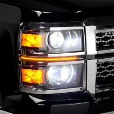 For Chevy Silverado 1500 2014-2015 Putco 290105T G3 Switchback LED Dayliners