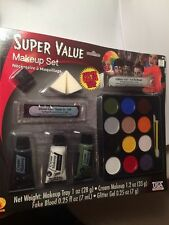 Halloween Rubies Super Value Makeup Set #19303 - Made in USA / USA Seller - NEW
