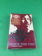 Dred Scott Check The Vibe Cassette