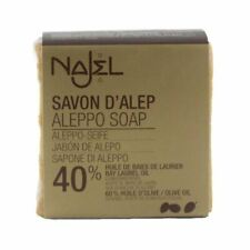 Najel Traditional Aleppo Soap Laurel Oil 40% - 185g problematic skin