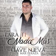 LA BANDONONONA CLAVE NUEVA DE MAX PERAZA - PARA TI NADA MAS * NEW CD