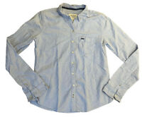 Abercrombie & Fitch Women's Shirt Blue Medium 100% Cotton SLIM FITTING
